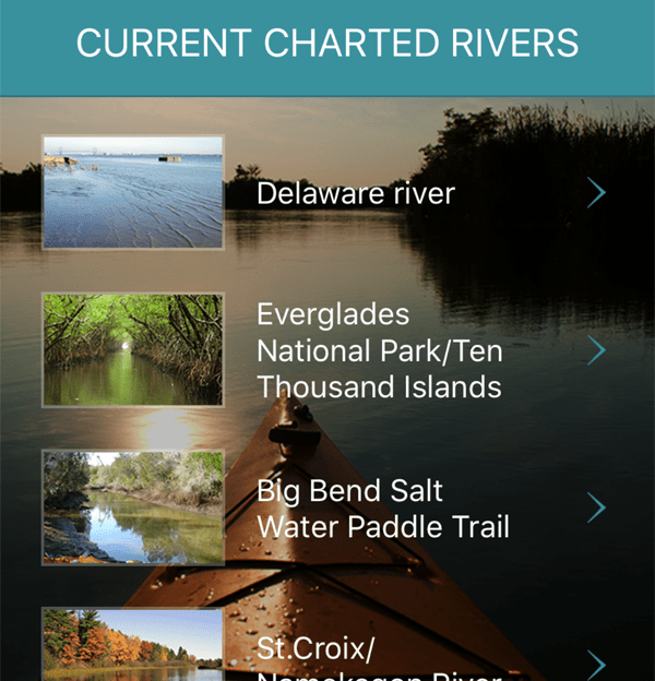 River List Dashboard